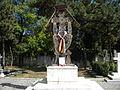 Bucuresti, Romania, Cimitirul eroilor cazuti in Revolutia din Decembrie 1989 (Troita).JPG