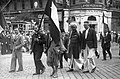 Budapest VIII., Rákóczi út - József körút sarok. A 9. Keresztyén Világkonferencia résztvevői. Fortepan 20474.jpg