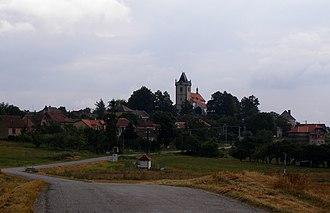 Budišov - Image: Budisov global