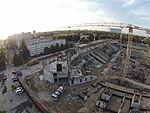 Budowa Stadionu - Łódź Widzew 2015 - Dji Phantom 3.JPG