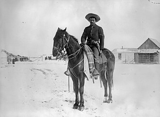 Buffalo Soldier - Buffalo Soldier in the 9th Cavalry, 1890