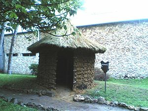 Bukusu - A replica of a Bukusu hut