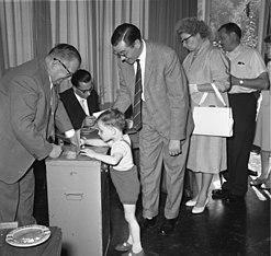 Wahlen einst / Bild: Egon Steiner (Bundesarchiv)