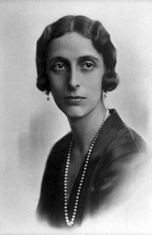 Louise Mountbatten - Lady Louise Mountbatten in 1920.
