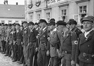 Volksdeutsche - Image: Bundesarchiv Bild 146 1972 026 51, Anschluss sudetendeutscher Gebiete