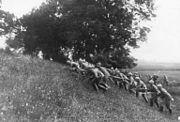 Bundesarchiv Bild 183-R33723, Frankreich, Argonnerwald, Vorgehen von Infanterie