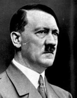 Hitler Cabinet - Image: Bundesarchiv Bild 183 S33882, Adolf Hitler (cropped)