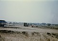 Burn Pits in 1st Marine Division Support Area in Saudi Arabia during the Gulf War, 1991.jpg
