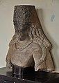 Bust of Vishnu with Kirit Mukut - Gupta Period - Jamalpur - ACCN 80-22 - Government Museum - Mathura 2013-02-23 4980.JPG