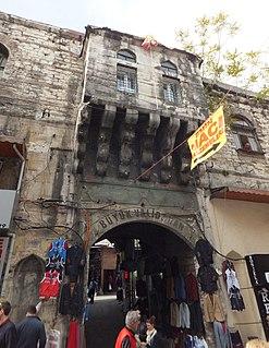 Büyük Valide Han Caravanserai in Istanbul, Turkey