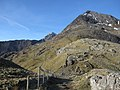 Bwlch y Moch, Crib Goch, and Snowdon-Yr Wyddfa - geograph.org.uk - 1187372.jpg