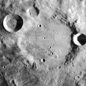Byrgius (crater) - Image: Byrgius crater 4168 h 1