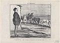 C'est peut-être bon...mais c'est égal..., from Les Hippophages, published in Le Charivari, October 23, 1856 MET DP876523.jpg
