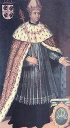 Còpia de 1634 del retrat imaginari del rei Ramir II d'Aragó - Filippo Ariosto (1586-1587).jpg