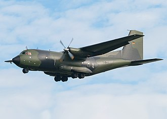 Transall C-160 - C-160 of the German Air Force