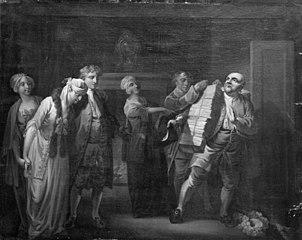 Republikken eller Det gemene Bedste, III akt, 10. scene
