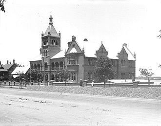 Aquinas College, Perth - Christian Brothers College west and central wings, built in 1895 and 1900 by the Christian Brothers