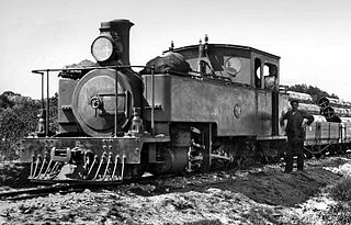 CGR Type A 2-6-4T class of 2 South African 2–6–4T locomotives