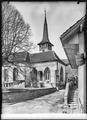 CH-NB - Haut-Vully, Môtier, Eglise Saint-Pierre, vue partielle extérieure - Collection Max van Berchem - EAD-6875.tif