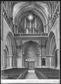 CH-NB - Lausanne, Cathédrale protestante Notre-Dame, vue partielle intérieure - Collection Max van Berchem - EAD-7300.tif