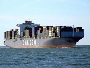 CMA CGM Parsifal p02 approaching Port of Rotterdam, Holland 29-Aug-2007.jpg
