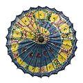 COLLECTIE TROPENMUSEUM Beschilderde parasol TMnr 6236-34.jpg