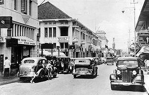Bandung - Jalan Braga circa 1935-1938