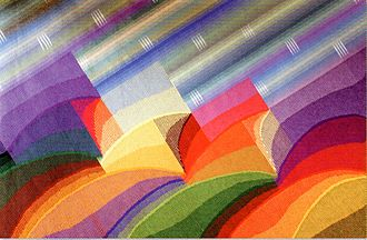 """Carles Delclaux Is - """"Corinti"""", tapestry, 200x300 cm., Carles Delclaux, 2007"""