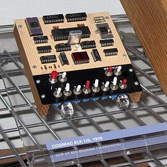 COSMAC ELF - COSMAC Elf with Pixie Graphics Display