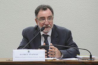 Patrus Ananias - Image: CRA Comissão de Agricultura e Reforma Agrária (18009405490)