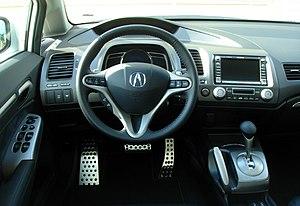 Acura CSX - Interior of 2008 CSX Technology