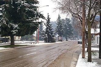 Trevelin - A winter day in Trevelin