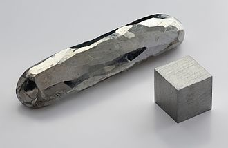 Heavy metals - Image: Cadmium crystal bar