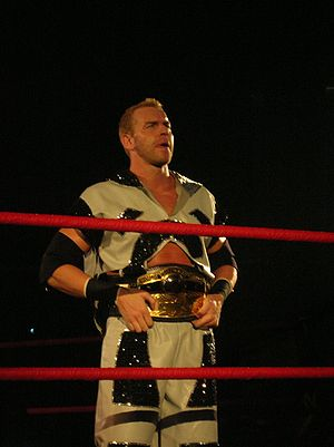 Christian's Coalition - Cage as the NWA World Heavyweight Champion.