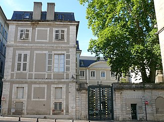 Lot (department) - Prefecture building of the Lot department in Cahors