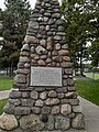 Cairn commemorating the Erie and Ontario Railway.jpg