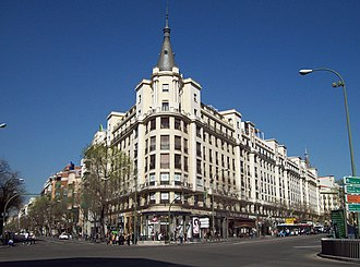 Salamanca (Madrid) - Image: Calle de Alcalá 151 (Madrid) 01