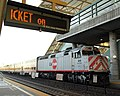 Caltrain at Millbrae station, January 2011.jpg