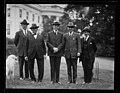 Calvin Coolidge and group outside White House, Washington, D.C. LCCN2016893757.jpg