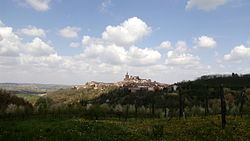 View of Camagna Monferrato