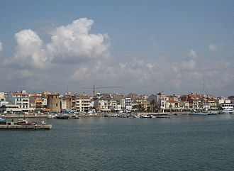 Cambrils - Cambrils as seen from the sea