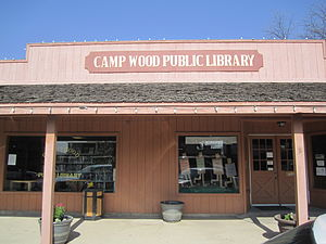 Camp Wood, Texas - Camp Wood Public Library