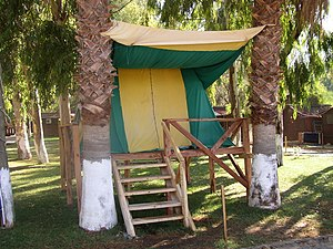 Campsite - A campsite on Ölüdeniz beach