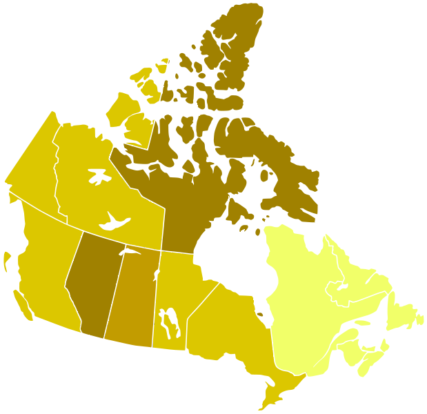 Can Provinces by Population Growth Rate