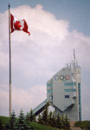 Olympische Skisprungschanze
