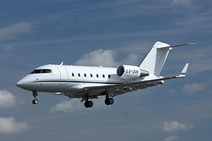 Bombardier Challenger 600 series - A Bombardier CL-604