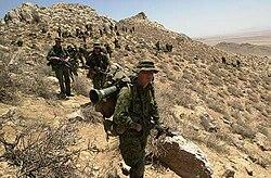 Soldados canadenses no Afeganistão.