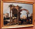 Canaletto, capriccio architettonico con rovine ed edifici classici, 1756 ca. 01.JPG