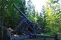 Canon de DCA 7.5 de 1938 au fort de Pré-Giroud 18-08-2012.jpg