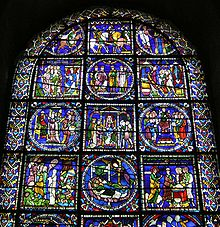 Canterbury Cathedral 021 Poor mans Bible window upper half.JPG